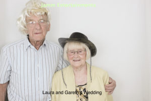 Older Couple Photobooth Picture
